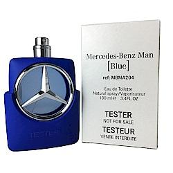 Mercedes Benz Star Blue賓士 紳藍爵士男性淡香水100ml TEST