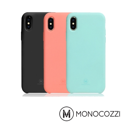 MONOCOZZI SoftTouch iPhone X 液態矽膠防污保護殼