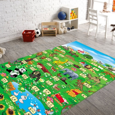 范登伯格 - 珍珠棉遊戲毯 - 動物王國 (120 x 180cm)
