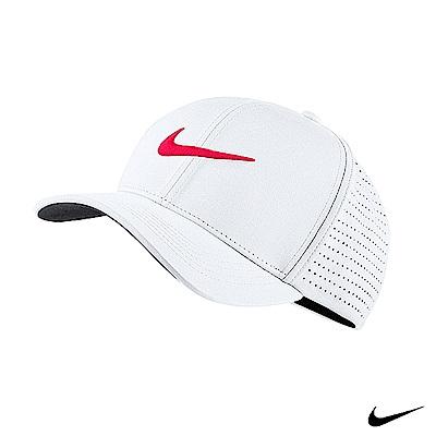 NikeGolf 男運動帽款-白-803330-101