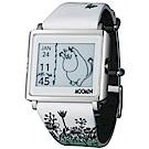 Smart Canvas Moomin 嚕嚕米 電子紙腕錶