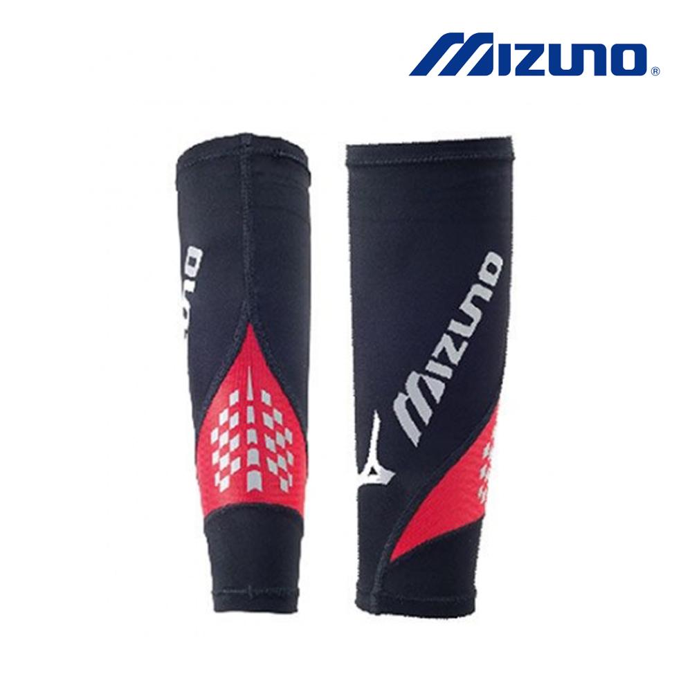 Mizuno BG8000II 進化型護小腿 黑x紅 (1雙) K2MJ6A5096