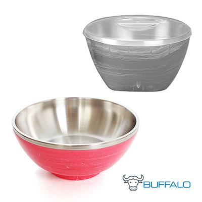 [限量77折]牛頭牌彩晶雙層多用途隔熱碗+拉麵碗