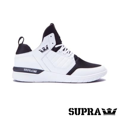 SUPRA Method系列男鞋-白/黑