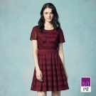 ILEY伊蕾 優雅縷空緹織洋裝體驗價商品(紅)