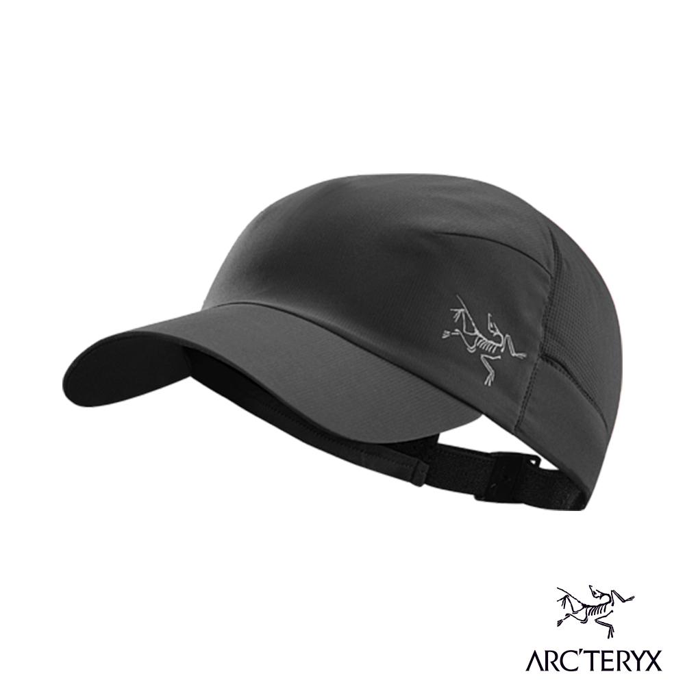Arcteryx 始祖鳥 CALVUS 透氣遮陽帽 黑