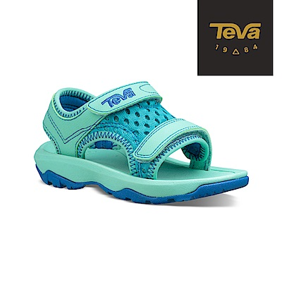 【TEVA】原廠貨 幼童 Psyclone XLT 機能運動涼鞋/雨鞋/水鞋(湖水綠-TV1019538TSGLS)