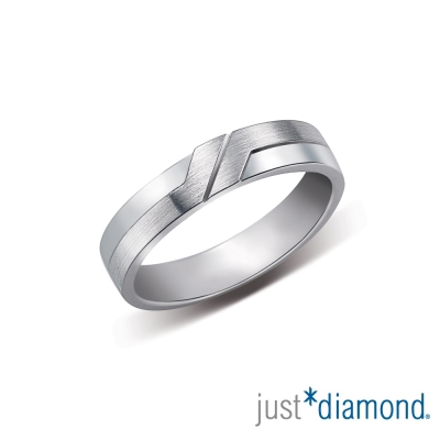 Just Diamond摯情閃耀 男女對戒-男戒