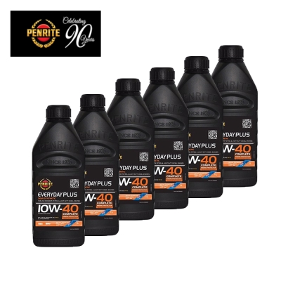 PENRITE澳洲EVERYDAY PLUS道路版10W-40 PAO合成機油1L-6瓶裝