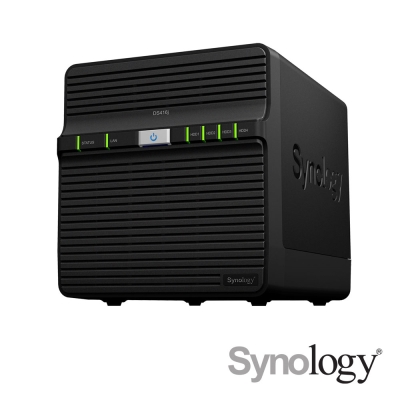 Synology DS418j 網路儲存伺服器