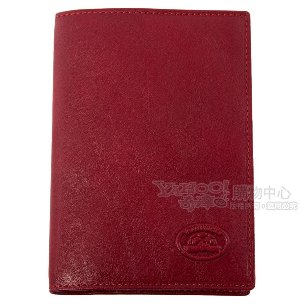TONY PEROTTI 經典ITALICO系列 公牛皮護照套 #1597S (紅色)