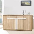 凱曼 布萊德5.3尺橡木紋餐櫃收納櫃