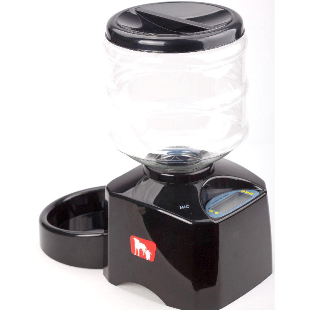 Pet Vill二代 乾電池液晶螢幕顯示自動餵食器 5.5公升