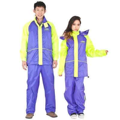 達新牌 迎光型休閒套裝二件式風雨衣