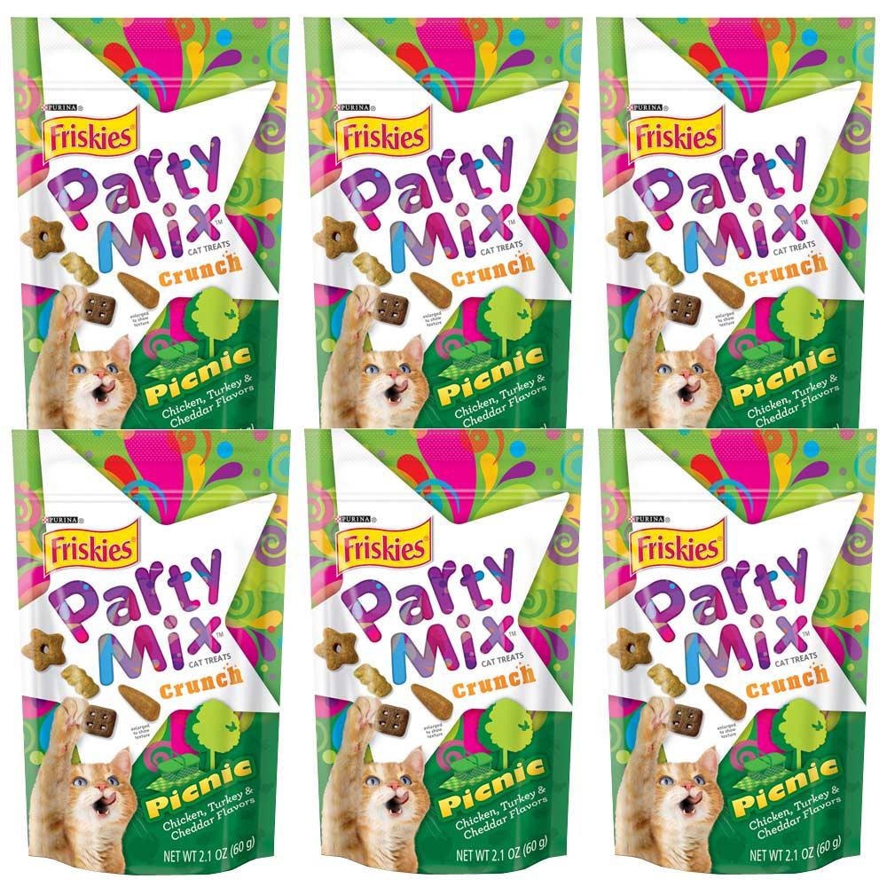 Friskies喜躍 Party Mix雞肉派對香酥餅 60g x 6包入