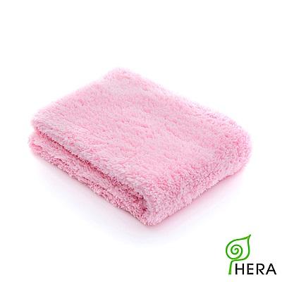HERA 3M專利瞬吸快乾抗菌超柔纖-洗臉巾-櫻花粉