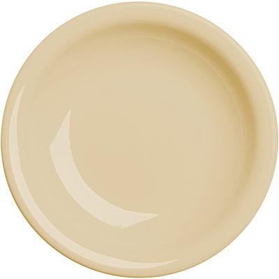 EXCELSA Fashion陶製深餐盤(奶油黃22cm)