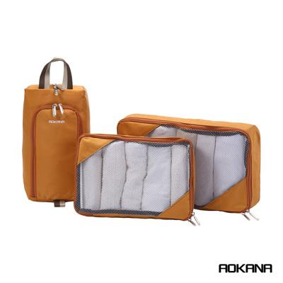 AOKANA奧卡納 台灣製造 衣物收納袋六件組 (卡其棕)