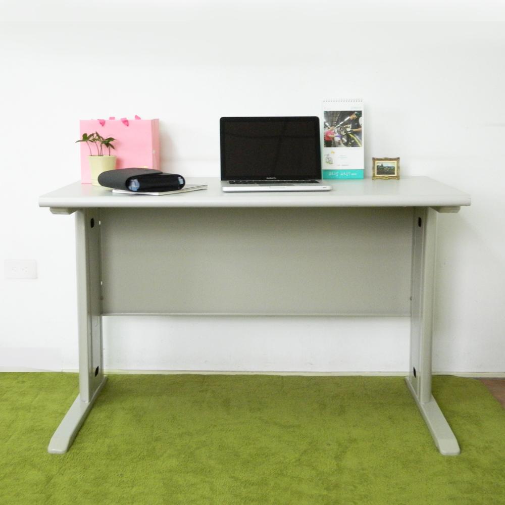 時尚屋 CD140灰色辦公桌 寬140cm-DIY