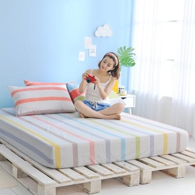GOODDAY-彩虹-纖絨棉-防蹣系列-床包 (150x186cm)
