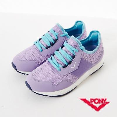 【PONY】SLIGHTLY系列-青春樣色舒適休閒鞋-女性-淺紫