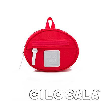 CILOCALA 亮彩尼龍防潑水MINI TAMAGO側背包(迷你)  紅色