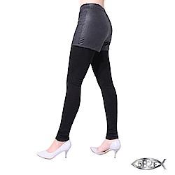 5B2F 五餅二魚 石頭紋假二件長褲(加厚內磨毛)