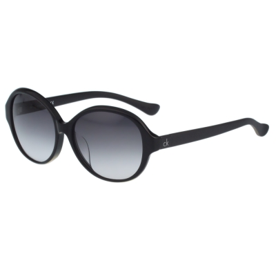 Calvin Klein- 簡約復古太陽眼鏡(黑色)