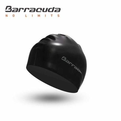 美國巴洛酷達Barracuda 成人矽膠 平板雙面 泳帽-快速到貨
