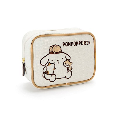 Sanrio 布丁狗永遠在一起系列帆布化妝包
