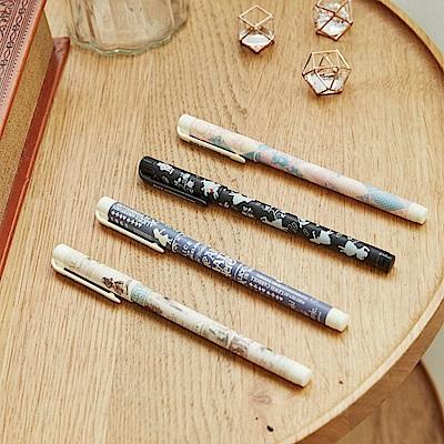 7321 Design 愛麗絲 0.5黑色原子筆4入套組