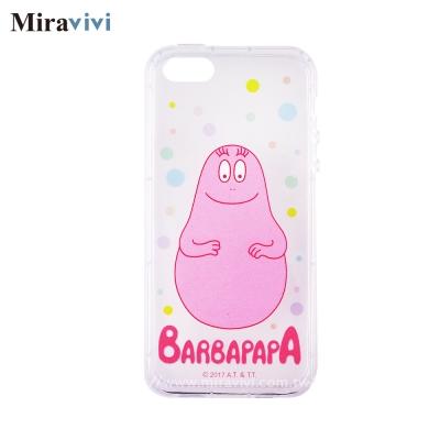 BARBAPAPA泡泡先生iPhone 5S/5SE空壓保護套_彩色泡泡