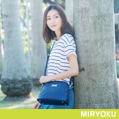 MIRYOKU 質感斜紋系列 / 清新休閒貝殼斜背包(共5色)