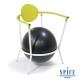 【日本 SPICE 】 多功能 碧綠白 瑜珈平衡球 時尚手扶椅 product thumbnail 1