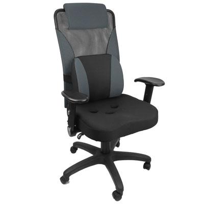 -Design- line精選護腰3D腰枕升降手3孔座墊辦公椅/電腦椅/書桌椅