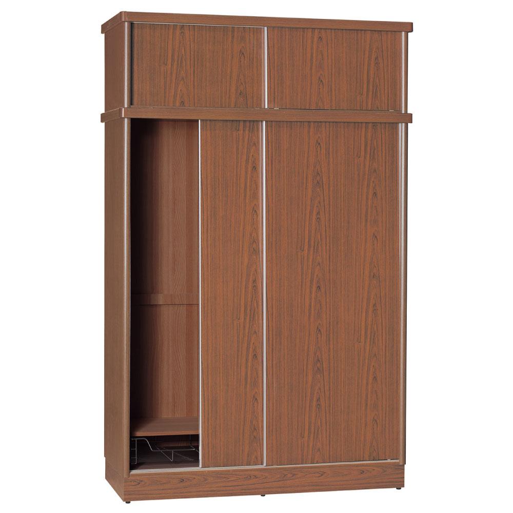 品家居 彼得潘5尺推門衣櫃(五色可選)-150x60x238.5cm-免組