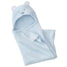 珊瑚絨 動物造型連帽毛毯 嬰兒包被