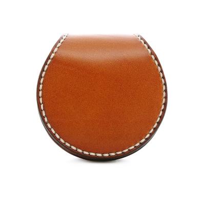 SOFER-全手工義大利樹羔皮馬蹄零錢包-共6色