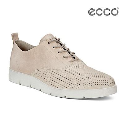 ECCO BELLA 簡約輕巧休閒鞋-粉
