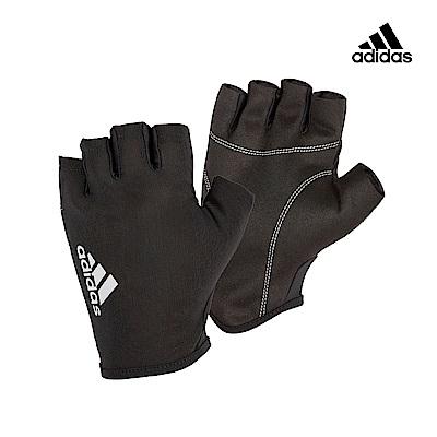 Adidas Training 初階透氣半指手套 (流星灰)