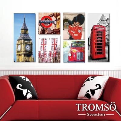 TROMSO時尚無框畫-經典倫敦 (6件1幅)