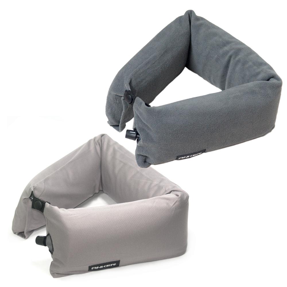 【ANKER】自動充氣可彎頸枕