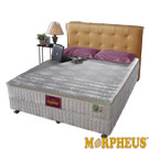 夢菲思 三線蓆面+布面冬夏兩用硬式彈簧床墊-雙人5尺