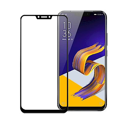 Xmart  ASUS Zenfone 5Z ZS620KL滿版2.5D鋼化玻璃...