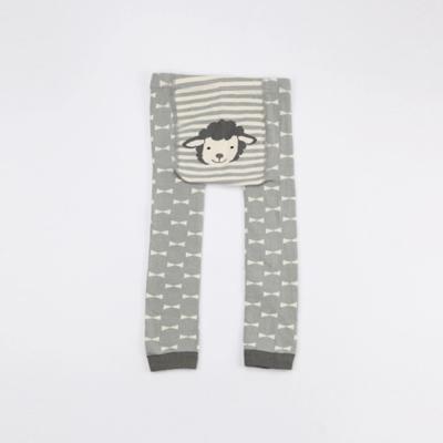 卡通動物造型 寶寶褲襪-2件入(選擇1入+隨機1入)