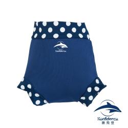 康飛登 Konfidence  嬰幼兒游泳專用外層加強防漏尿布褲 - 海軍藍/點點