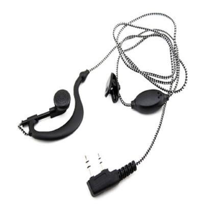 對講機耳機/麥克風/耳麥編織線 一般雙孔對講機通用