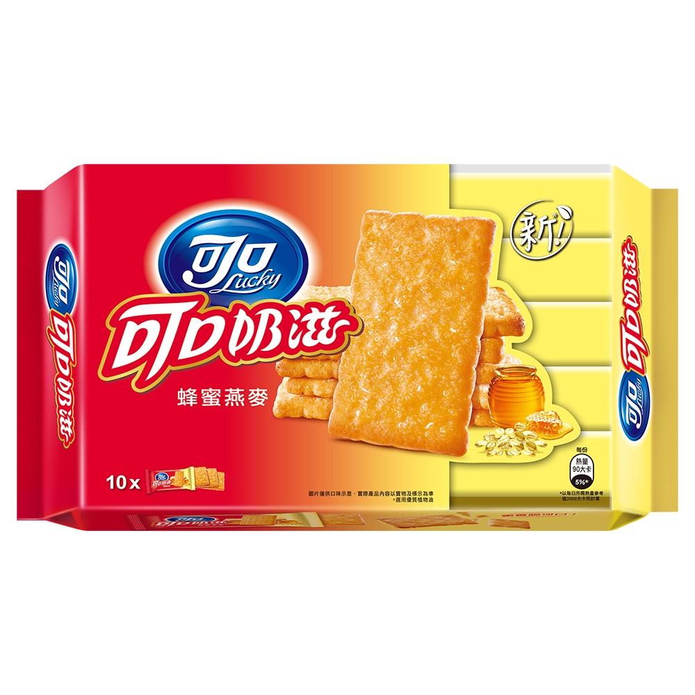 可口奶滋 蜂蜜燕麥口味隨手包(18.75gx10入)
