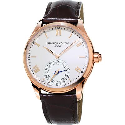CONSTANT康斯登 SMARTWATCH智能錶系列手錶 -玫瑰金框x咖啡/41mm