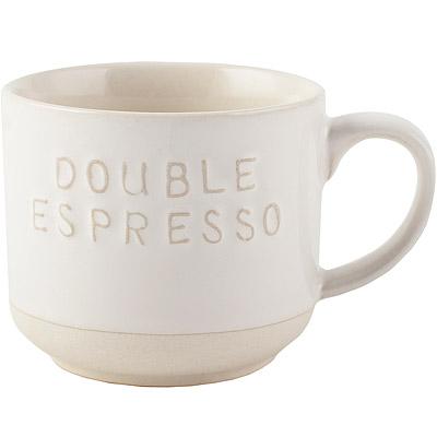 《CreativeTops》Cafetiere質樸雙份濃縮咖啡杯(200ml)